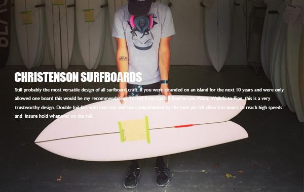 CHRISTENSON SURFBOARDS,���ꥹ�ƥ�