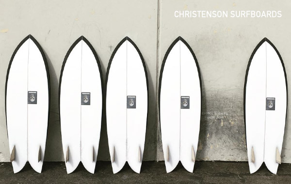 CHRISTENSON SURFBOARDS,���ꥹ�ƥ󥽥�