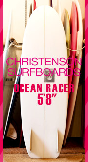 CHRISTENSON SURFBOARDS, ���ꥹ�ƥ󥽥�,